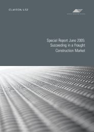 2005 Construction Market Report - Clayton Utz (.pdf)
