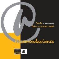 Recomendaciones Menores 2008 - Agencia Española de ...
