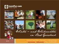 Kinderprogramm 2011 - St. Wolfgang