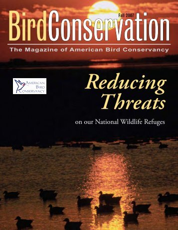 on our National Wildlife Refuges - American Bird Conservancy