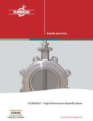 brands you trust. FLOWSEAL® - High Performance ... - Crane Supply
