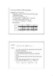 Two-way Factorial Design 1 - Mailer Fsu