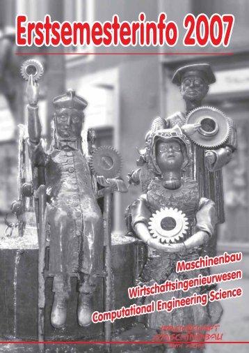 Erstsemesterinfo 2007 - Fachschaft Maschinenbau