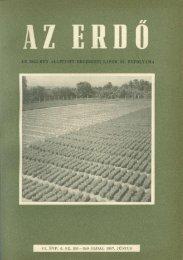 Letöltés egy fájlban (22,4 MB - PDF) - Erdészeti Lapok
