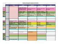Explorer Homework Calendar 2012-2013