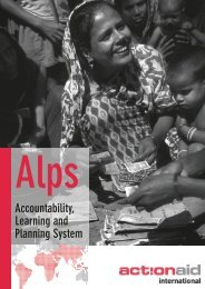What is Alps? - ActionAid