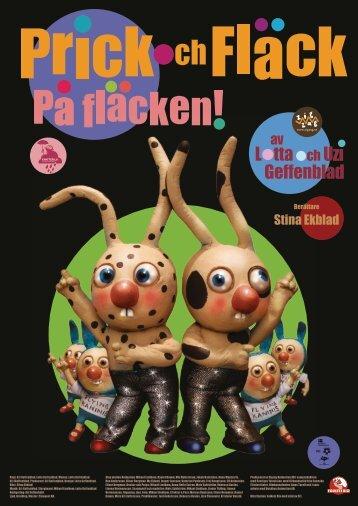 Pressmaterial Prick och Fläck på fläcken - Folkets bio
