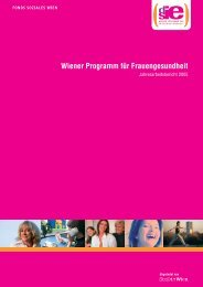 Jahresbericht 2005 - Frauengesundheit-Wien
