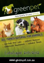 Catalogue 2011/2012 - Greenpet
