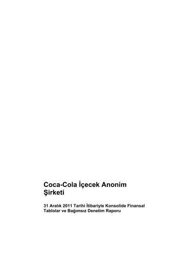 Coca-Cola İçecek Anonim Şirketi
