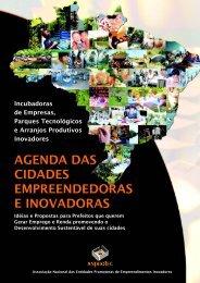 Agenda das cidades empreendedoras e inovadoras - Anprotec