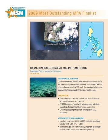 Daan-Lungsod-Guiwang Marine Sanctuary - Oneocean.org