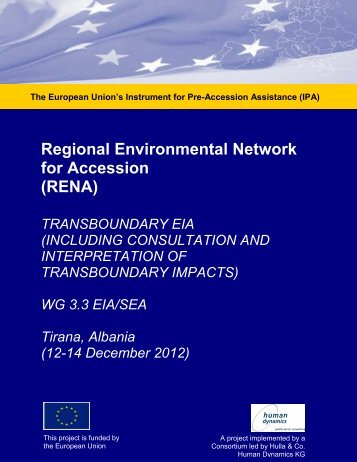 WG EIA SEA WS Materials 12-14 Dec 2012.pdf - Renanetwork.org