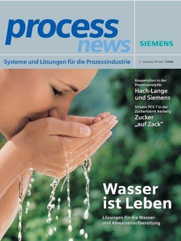 Wasser ist Leben Wasser ist Leben - Siemens