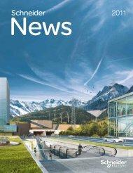 Schneider NEWS 2011 als PDF (3.29MB) - Schneider Electric