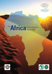 The Africa Competitiveness Report 2009 - Workinfo.com