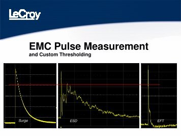 EMC Pulse Measurement