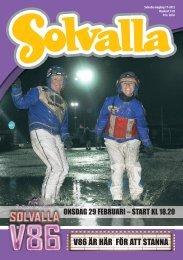 onsdag 29 februari - Solvalla