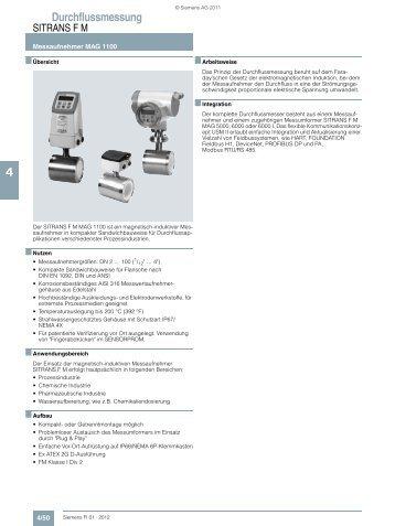 Durchflussmessung 4 - Siemens
