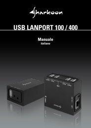 USB LANPORT 100 / 400 - Sharkoon
