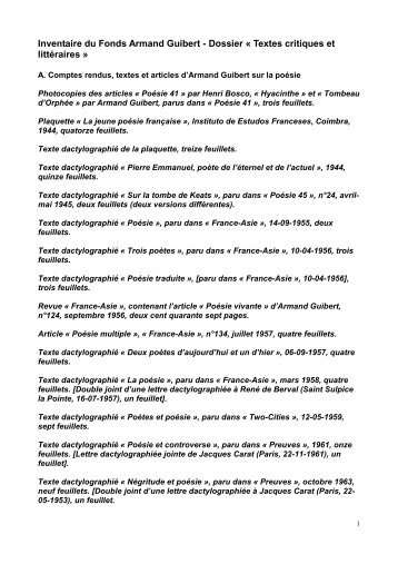 Textes critiques et littéraires.pdf