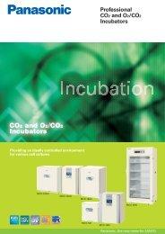 Panasonic CO2 Incubator MCO-18AC - Ewald-medilab.de