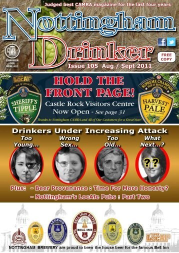 Aug/Sept 2011 PDF - Nottingham CAMRA