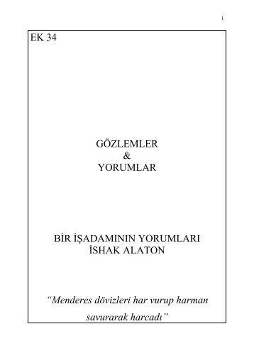 ishak alaton - Kemalizm 1938