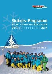 Link zum Kursheft - Ski-Club Kandel eV Waldkirch