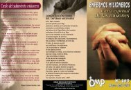 Enfermos - Obras Misionales Pontificias