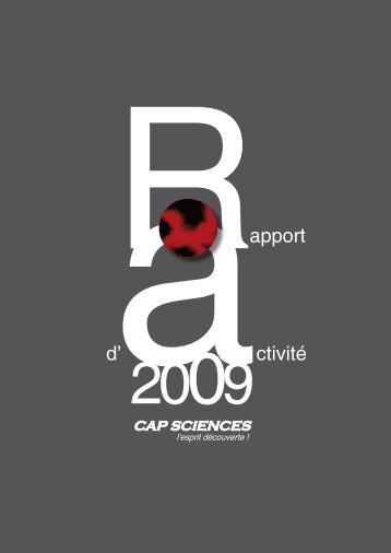 Rapport d'activité - Cap Sciences