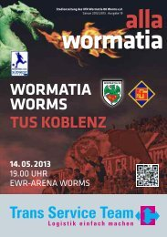 2013-05-14_TuS_Koble.. - Wormatia Worms