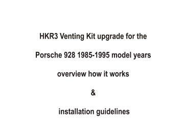 HKR-95 Vent-Kit-P1.pdf - Porsche 928