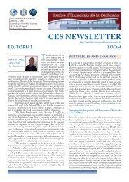 ces newsletter - Centre d'Économie de la Sorbonne - Université ...