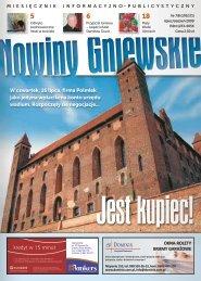 Nowiny Gniewskie Lipiec-Sierpień 2009.pdf - biblioteka.gniew.wbpg ...