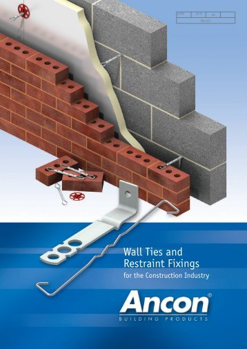 Wall Ties and Restraint Fixings - Masonry First