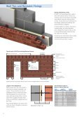 Wall Ties and Restraint Fixings - Masonry First - Page 6