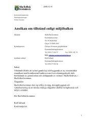 Ansökan om vattenverksamhet (pdf, nytt fönster) - Skellefteå kommun