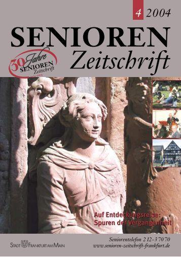 Die gesamte Ausgabe 4/2004 als pdf-Datei - Senioren Zeitschrift ...