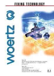 FIXING TECHNOLOGY - Woertz Carolina Inc.