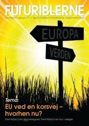 EU ved en korsvej – hvorhen nu? - fremtidsforskning.dk