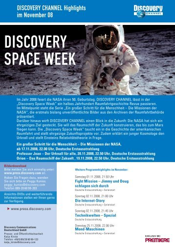 DISCOVERY SPACE WEEK