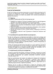018 CAPITULO 17 Plan de Contingencias.pdf - sedapal.com.pe