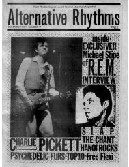 Alternative Rhythms - Dec 1984