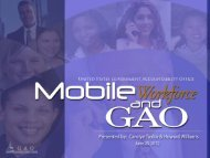 Mobile Workforce and GAO