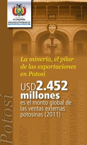 Potosí - Ministerio de Economía y Finanzas Públicas
