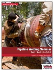 Pipeline Welding Seminar - Iploca