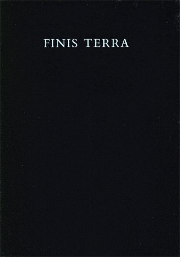 Page 1 Page 2 CLAUDIO PARMIGGIANI FINIS TERRA ...