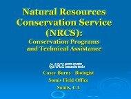 Natural Resources Conservation Service (NRCS): Natural ...