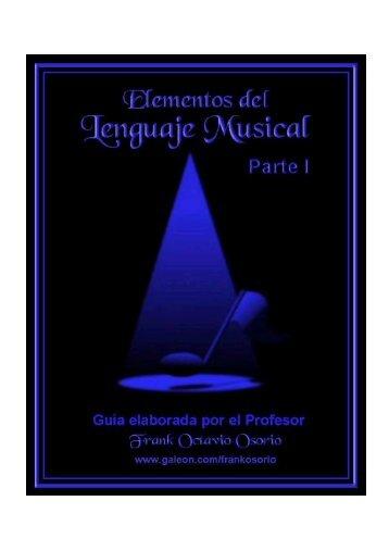 Descargar Elementos del lenguaje musical - Mundo Manuales